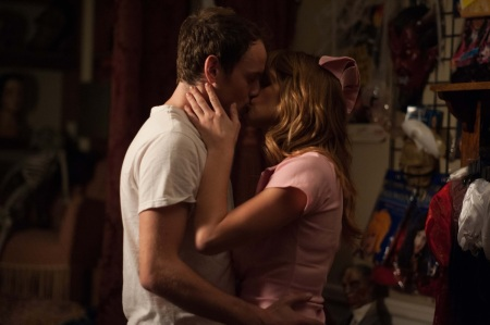 anton yelchin and ashley greene BURYING THE EX